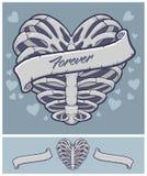 Acción del vector del corazón Foto de archivo libre de regalías