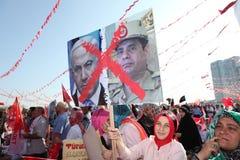 Acción a Egipto Imagen de archivo