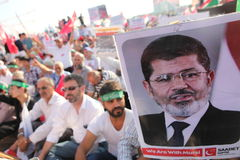 Acción a Egipto Fotos de archivo libres de regalías