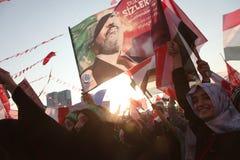 Acción a Egipto Imágenes de archivo libres de regalías