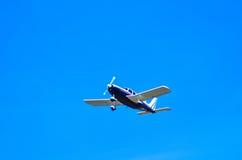 Acción en el cielo durante un airshow Imágenes de archivo libres de regalías