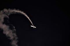 Acción en el cielo durante un airshow Fotografía de archivo libre de regalías