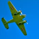 Acción en el cielo durante un airshow Fotos de archivo libres de regalías