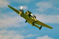 Acción en el cielo durante un airshow Fotos de archivo