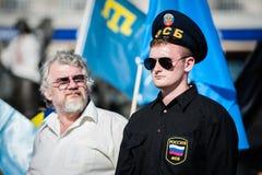 Acción en la ayuda Ilmi Umerov Fotos de archivo libres de regalías