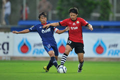 Acción en la taza 2011 de la liga de Toyota Fotos de archivo