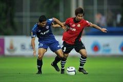 Acción en la taza 2011 de la liga de Toyota Imagenes de archivo