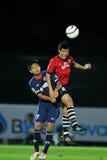 Acción en la taza 2011 de la liga de Toyota Fotografía de archivo