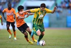 Acción en Thaileague 2013 Fotografía de archivo libre de regalías