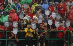 Acción indonesia del partidario Imagenes de archivo