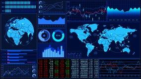 Acción Market_060 stock de ilustración
