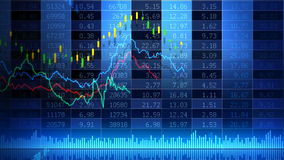 Acción Market_073 stock de ilustración