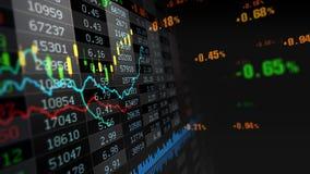 Acción Market_076 stock de ilustración