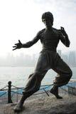 Acción pasada Héroe-Bruce Lee Foto de archivo