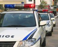 Acción policial Foto de archivo