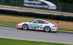 Acción que compite con de Porsche Fotografía de archivo libre de regalías