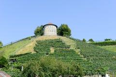 Acción tradicional vieja del silo del cereal del trigo en Bellinzona Foto de archivo