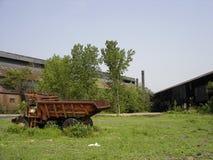 Acciaieria abbandonata Fotografia Stock Libera da Diritti