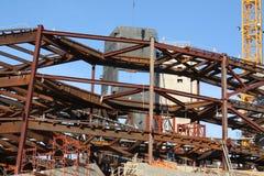 Acciaieria della costruzione Immagini Stock Libere da Diritti