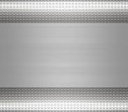 Acciaio del metallo o zolla dell'alluminio Immagini Stock