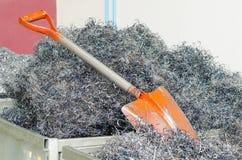 Acciaio del residuo Immagine Stock
