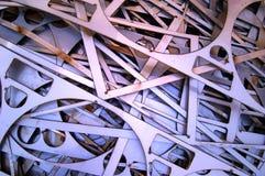Acciaio dello scarto Fotografie Stock