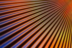 Acciaio ondulato variopinto Fotografia Stock Libera da Diritti