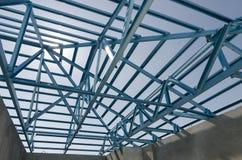 Acciaio Roof-13 Fotografie Stock
