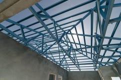Acciaio Roof-15 Fotografie Stock