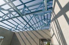 Acciaio Roof-16 Fotografie Stock