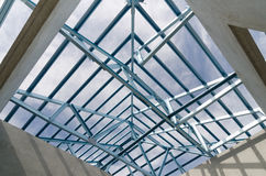 Acciaio Roof-21 Immagine Stock