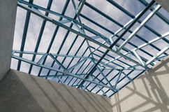 Acciaio Roof-24 Immagine Stock