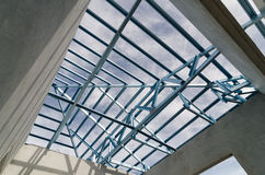 Acciaio Roof-26 Immagine Stock Libera da Diritti