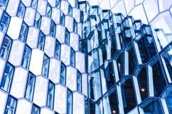 Acciaio, vetro ed indicatore luminoso Fotografia Stock Libera da Diritti