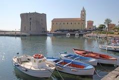 Acciaroli Italien Stockfoto