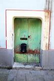 Acciaroli-Tür Stockfotografie