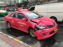 Accident car Stock Image
