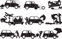 Accident 2 illustration stock