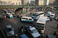 Accident in Cairo Stock Photography