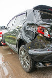 Accident Car Crash, Car crash Often easily happen If the neglige Stock Image