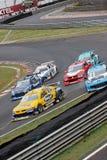 accident cars racing six Στοκ Εικόνες