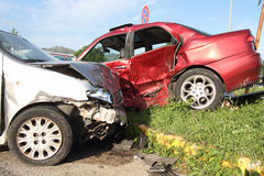 Accident Royalty Free Stock Photo