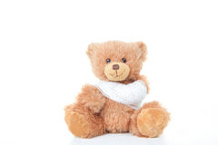Accident concept teddy Royalty Free Stock Photo