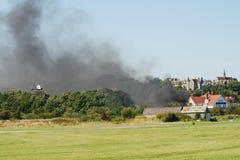 Accident d'airshow de Shoreham, 2015 Photo stock