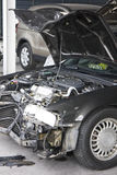 Accident Damaged Motorcar Stock Photo