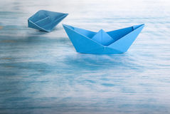 Accident de bateau Images libres de droits