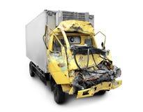 Accident de camion photos stock