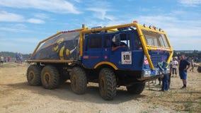 Accident de camion Images libres de droits