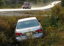Accident de camion de pompiers et de véhicule images stock