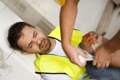 Accident de construction Image libre de droits